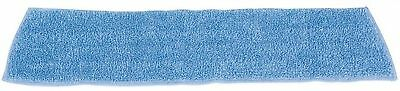 Rubbermaid Commercial Blue Microfiber Damp Room Flat Mop Pad (Case of 12)