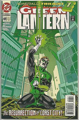Green Lantern #48 : 1st Kyle Rayner : Vintage DC Comic book from January 1994