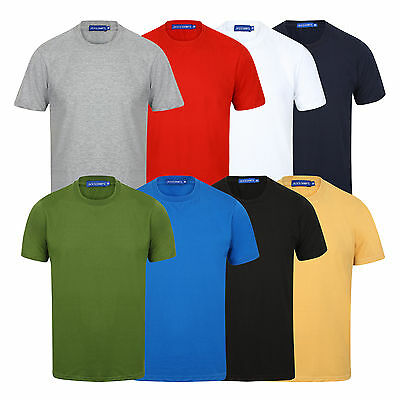 New Mens T Shirt Short Sleeve Crew Neck Casual Fit Quality Tee T-Shirt Comfort