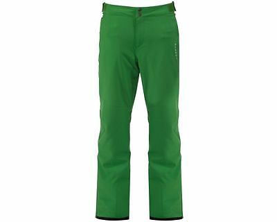 Mens Dare2b PROFUSE GREEN Salopettes Ski Pants MEDIUM LARGE SOFTSHELL SHORT LEG