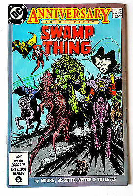 Swamp Thing #50 (1986 DC) VF- 1st Justice League Dark