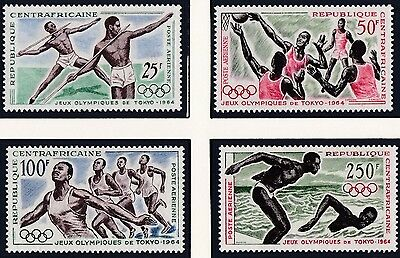 Central Africa     1964  18Th Olympic  Games     Mnh   231