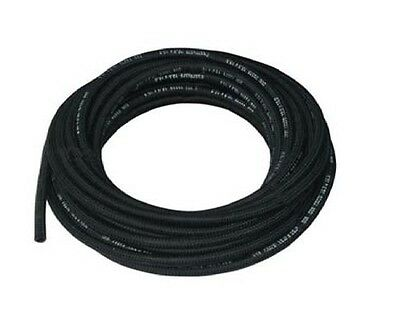 7mm ID Rubber Cotton Overbraid Fuel Hose DIN 73379
