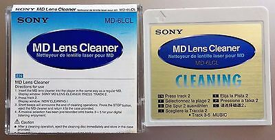 Sony MD6LCL Mini Disc Lens Cleaner (MD-6LCl) AS SEEN IN PHOTO DOES EXCELLENT JOB