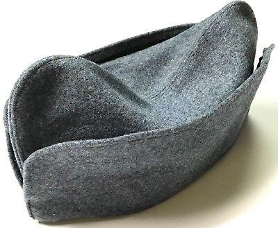 Wwi France French M1915 Blue Wool Overseas Side Cap-Large