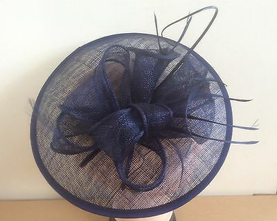 Large Headband Fascinator Hat with Aliceband/Wedding Ladies Day Race Royal Ascot