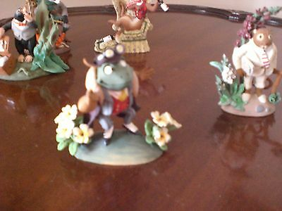 The Wind in the Willows Figurine Collection by Hamilton Collection