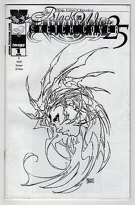 Top Cow Classics Witchblade #25 B&W Michael Turner Sketch VARIANT