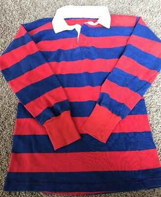 VTG Umbro Rugby Heavyweight Striped Shirt Jersey Vintage