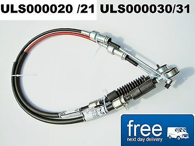 ROVER 75 MG ZT 2.0 CDTI Diesel  Cable Shift Selector Set  ULS000020 + ULS000030