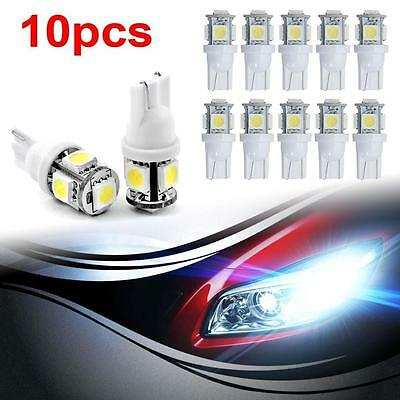 10 Canbus T10 194 168 W5W 2825 5 LED SMD White Car Side Wedge Light Lamp Bulb UP