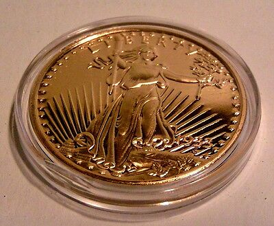NCM 24k gold plated U.S. Gov't Tribute 1933 $20 Gold Double Eagle Coin