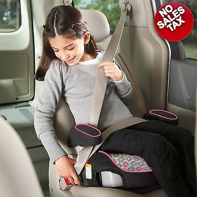 Graco TurboBooster Booster Car Seat Child Toddler Kids Safety Backless Claire