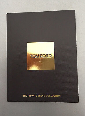 c. 2005 Tom Ford fragrance private blend collection, Noir de Noir, Moss Breches