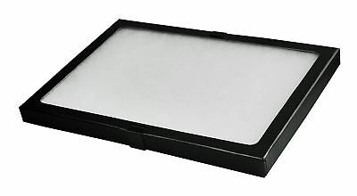 Riker Style Display Case Box 12x8.25x0.75 Shadow Collection Foam Jewelry Black