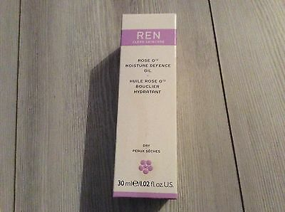 REN O12 MOISTURE DEFENSE OIL 30ml