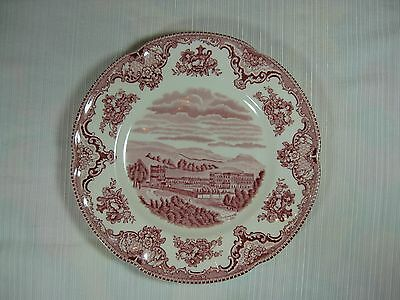 Johnson Bros Old Britain Castles Pink Salad or Luncheon Plate Chatsworth in 1792