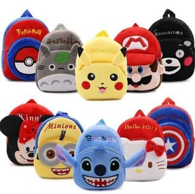 New Baby Toddler Kids Mini Cartoon Animal Backpack Schoolbag Shoulder Bag Cute