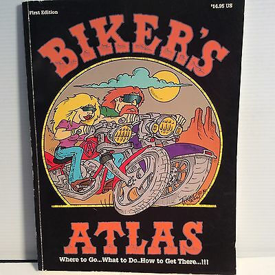 Bikers Atlas 2002 First Edition  American Bikers Guide NEW