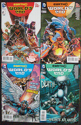 World's End Issues #1-4 (Lot of 4 comics)