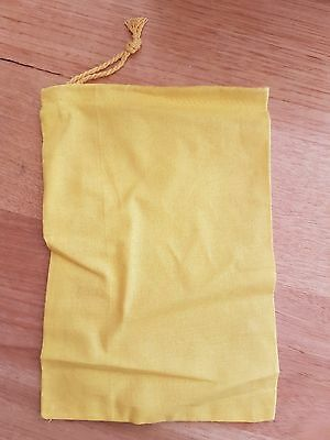 Yellow Calico Bags. Box of 100