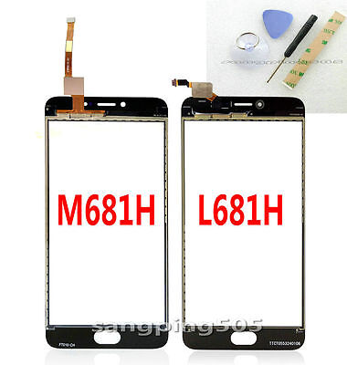 E- For Meizu M3 Meilan Note 3 M681H / L681H Touch Screen Digitizer Glass Panel