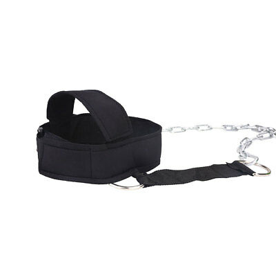 Head Weight Lifting Neck Strength Strap Exercise Nylon Fitness Equipment