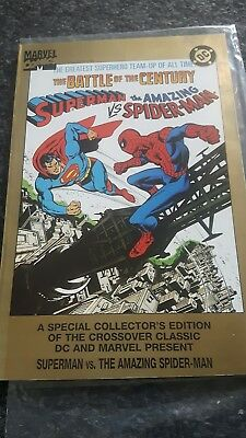 Superman vs Spiderman  The Battle of the Century  Special Collectors Edition