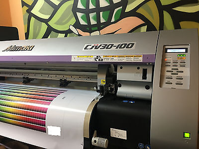 Digitaldrucker - MIMAKI CJV30-100 Super Zustand