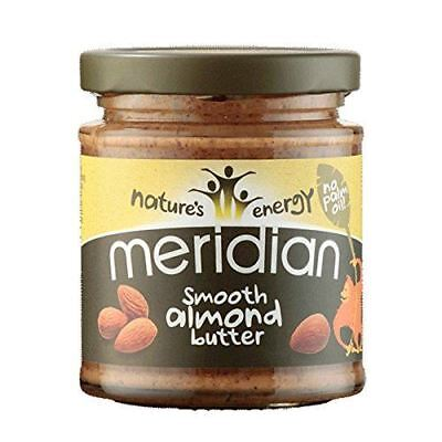 Meridian Foods Almond Butter Smooth 100% Nuts 170g