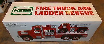 Hess Gasoline '15 Fire Truck and Ladder Rescue