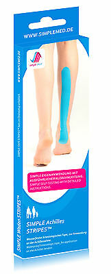 Achilles Tape - Kinesiology Pre Cut Physio Tape Precut - REMAINING STOCK