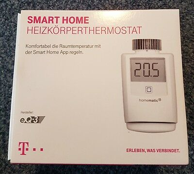 telekom smart home heizk rperthermostat i app steuerung neu ovp eur 27 00 picclick de. Black Bedroom Furniture Sets. Home Design Ideas
