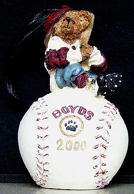BOYDS BEARS & FRIENDS McGwire Its Outta Here Style 25717 EXTRA BEAR W/PURCHASE!!