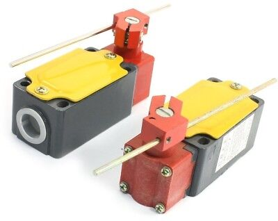 2pcs LXK3-20S/J Rotary Rod Lever Arm Actuator Momentary Limit Switch