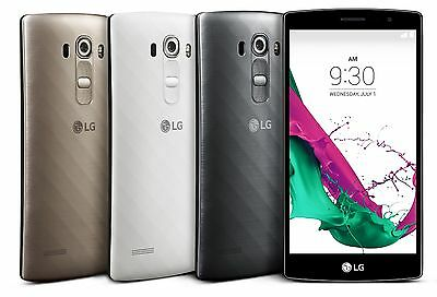 "LG G4 H815 UK/EU V 4GLTE 32G/3G ram 16mp.B 8mp.F 5.5""Latest Android Unlocked New"