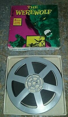 1970's Columbia Pictures THE WEREWOLF  B/W 8mm Movie 5 inch reel SHIPS FREE