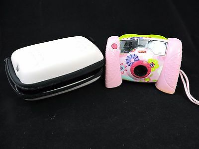 Fisher Price Kid Tough Digital Camera | Girls Edition w/Case | Tested * WORKS*