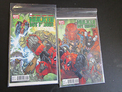 Hulked Out Hero's Set Of 2 Comics • $2.25