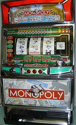 Slot Machine - Monopoly  Pachislo Token Skill Slot Machine