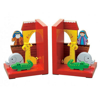 Orange Tree Toys : Wooden Noah's Ark Bookends