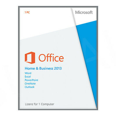 Office 2013 professional plus mit dvd eur 42 50 - Windows office home and business 2013 ...