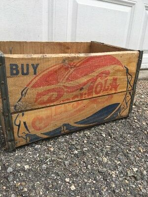 PEPSI COLA Soda CRATE DOUBLE DOT Vintage BOTTLE CAP