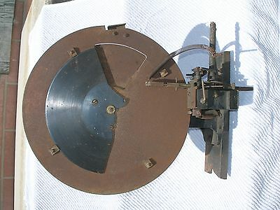 Super Rare Mechanism For Antique Coin Operated Talking Scale