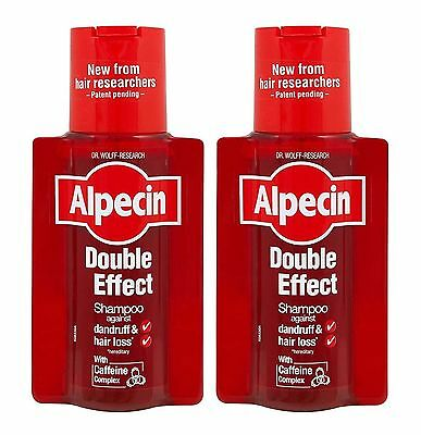 Alpecin Double Effect Shampoo 200ml - Pack of 2