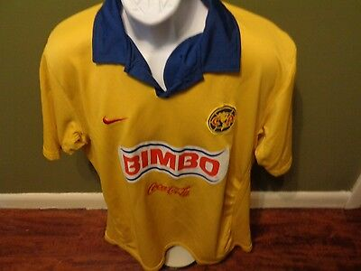 90aeafd72 NIKE club america vintage soccer jersey aguilas del america SIZE ADULT MEN  XL