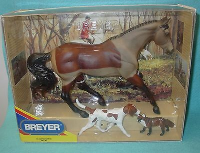 Breyer Traditional Blanket Clip Gem Twist #3359 New 01-03 Fox Hunting Gift Set