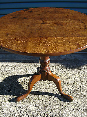 Georgian Oak Tripod Table [round/tilt/tip/top/not/victorian/dining/coffee/small]
