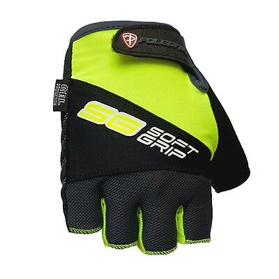 Bike Bicycle Cycling Padded Half Finger Fingerless Gloves Green