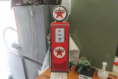 "HUGE NEW Texaco Gas Pump Embossed Tin Sign Garage 32"" X 11"" GLOBE SERVICE"